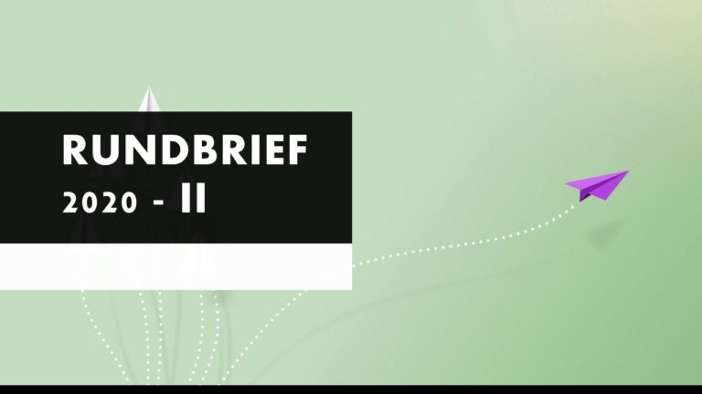 Read more about the article Rundbrief II – 2020